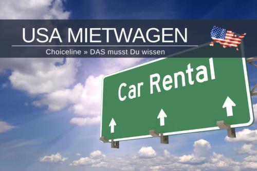 Choiceline Usa Mietwagen