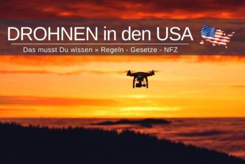 Drohnen In Den Usa