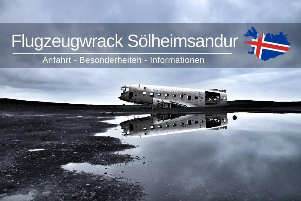 Flugzeugwrack Soelheimsandur Island
