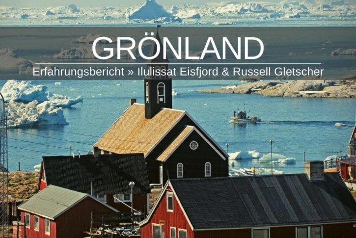 Grönland Ilulissat Eisfjord