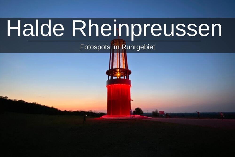 Halde Rheinpreussen Moers - Das Geleucht