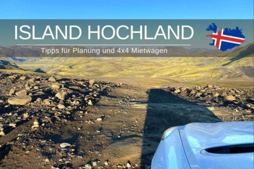 Island Hochland Tipps 4x4