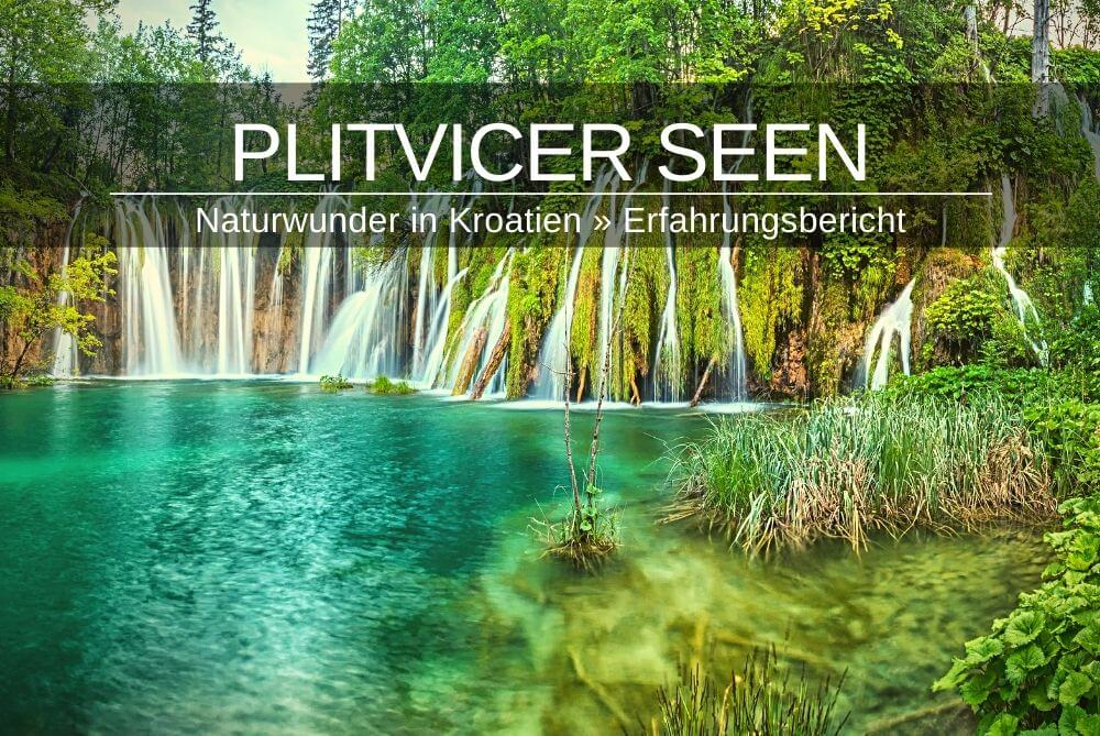 Plitvicer See Kroatien