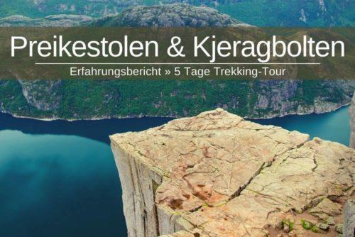 Preikestolen Kjeragbolten Wanderung Trekking