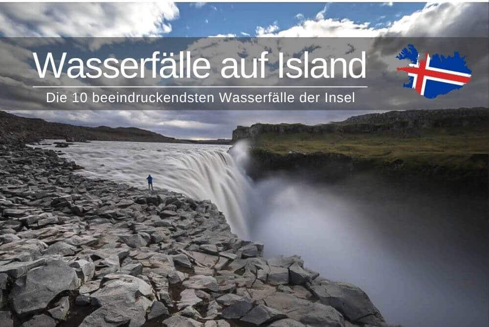 Top 10 Wasserfaelle in Island