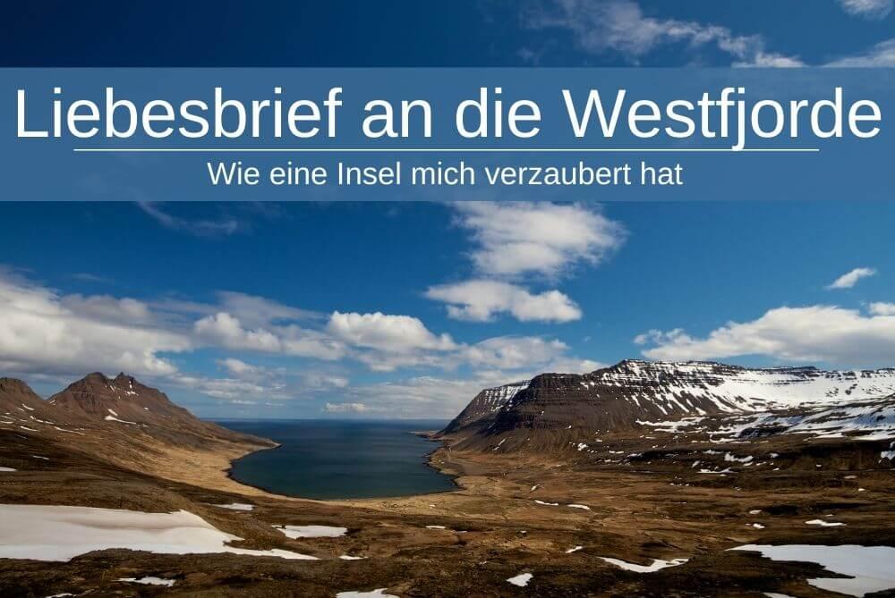 Liebesbrief Island Westfjorde