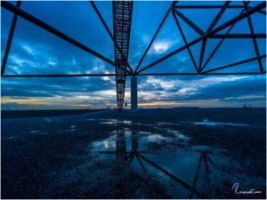 Blue Hour am Tetraeder