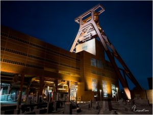 Doppelbock-Förderturm Zeche Zollverein