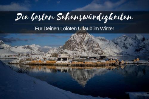 Lofoten Urlaub Locations im Winter