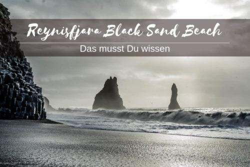 Reynisfjara Island Black Sand Beach