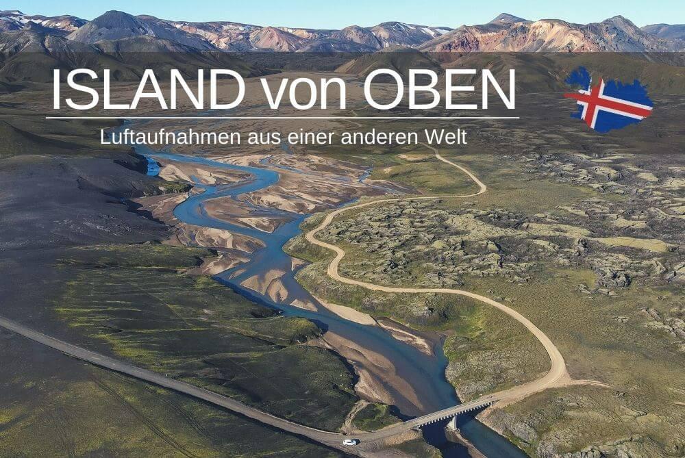 Luftaufnahmen Island Von Oben