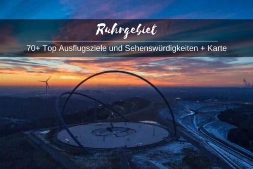 Karte Ruhrgebiet Sehenswürdigkeiten Ausflugsziele