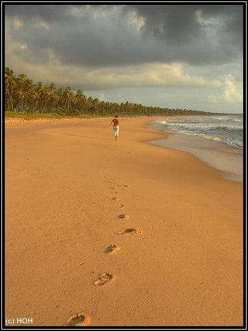 Footprints ... nur einer der Strände von Bahia