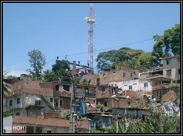 Farvelas in Salvador
