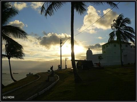 Eines der Forts in Salvador de Bahia