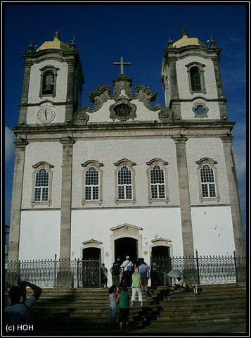 Igreja do Bonfim ... eine der bekanntesten Kirchen in Salvador de Bahia