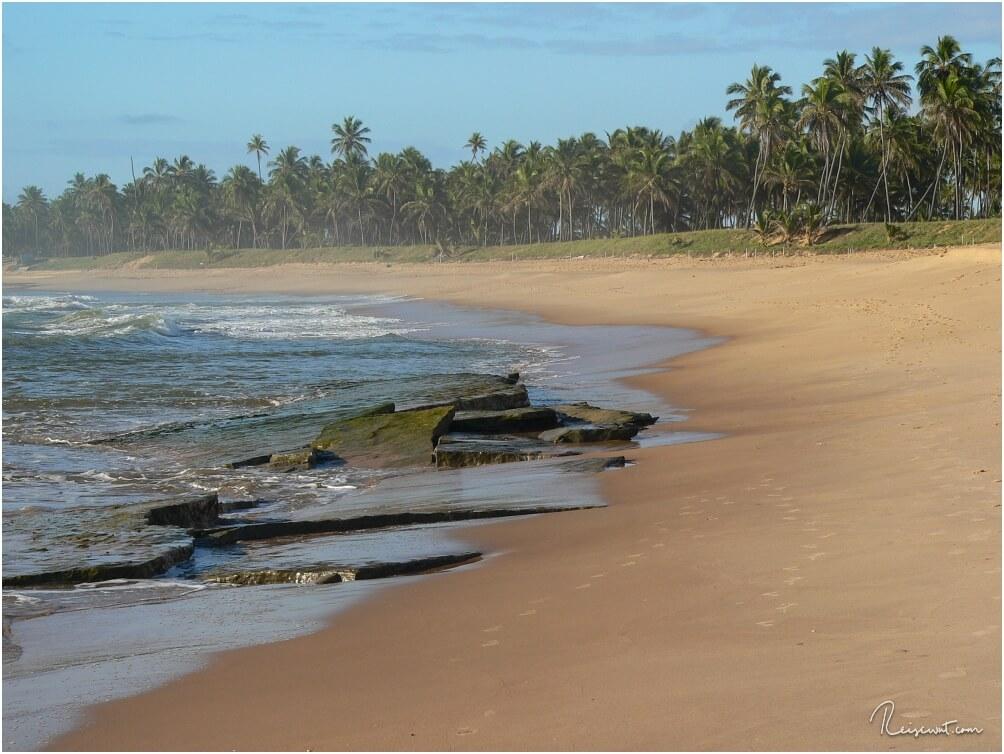 Der Weg am Strand entlang ist einfach nur ein Traum