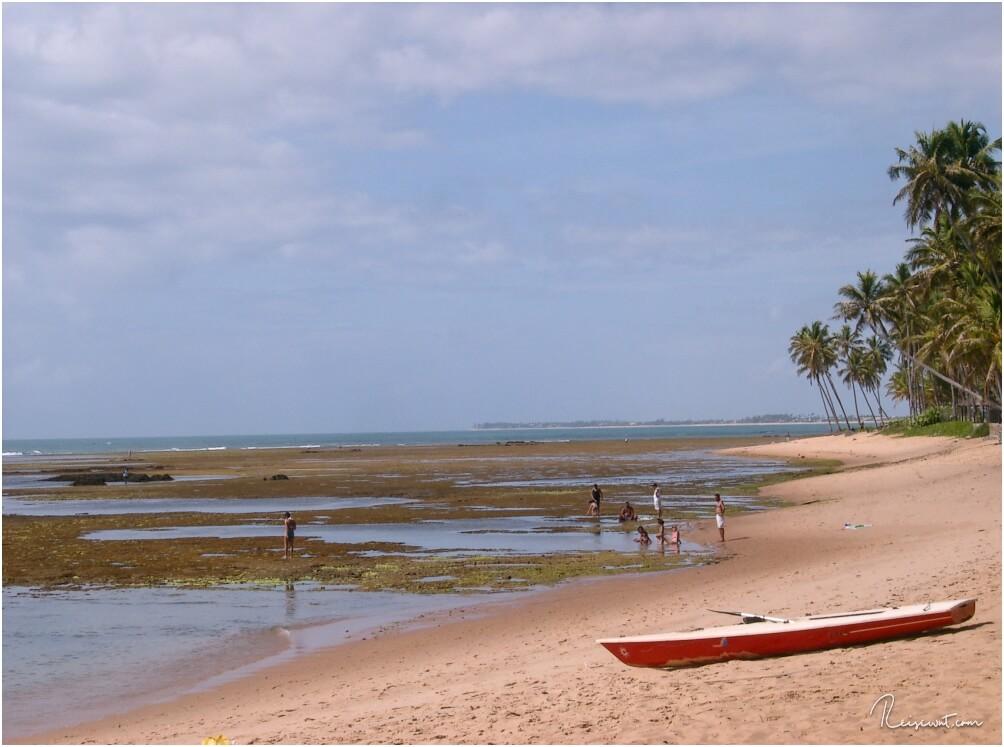 Strandabschnitt bei Praia do Forte
