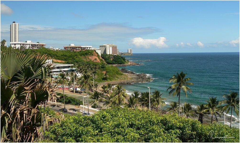 Aussicht auf Salvador de Bahia