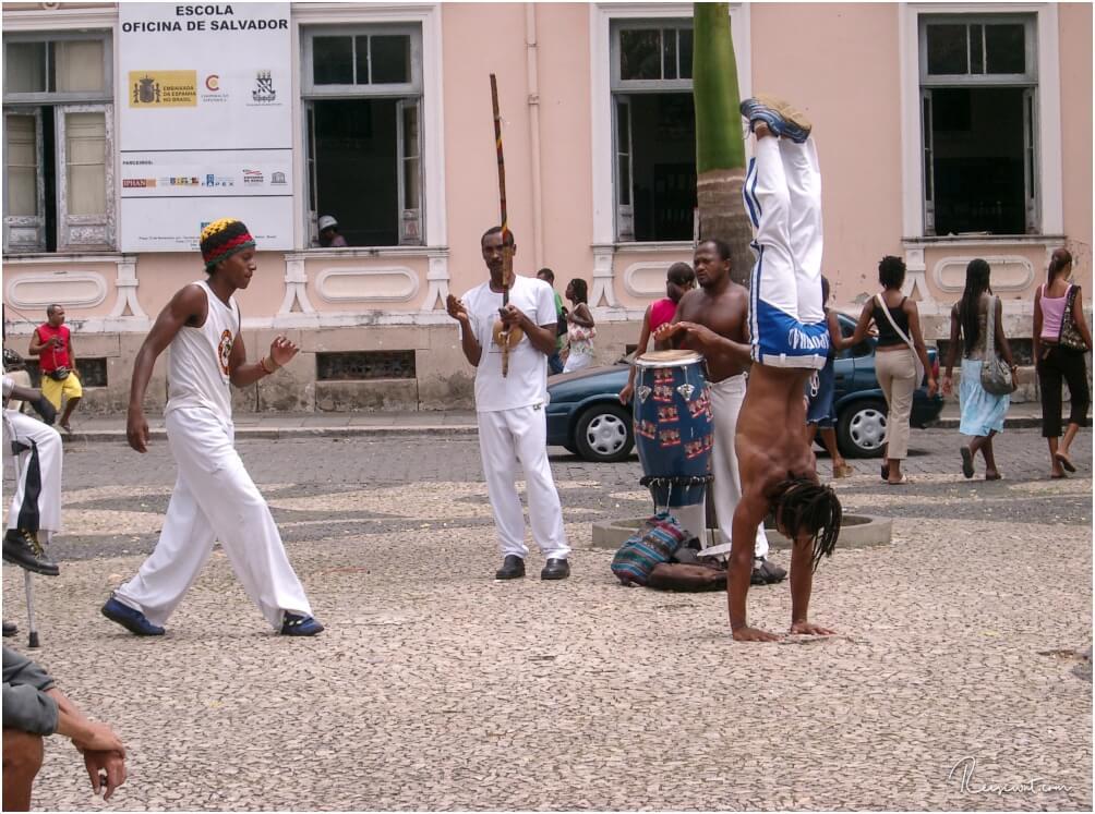 Capoeira amPelourinho