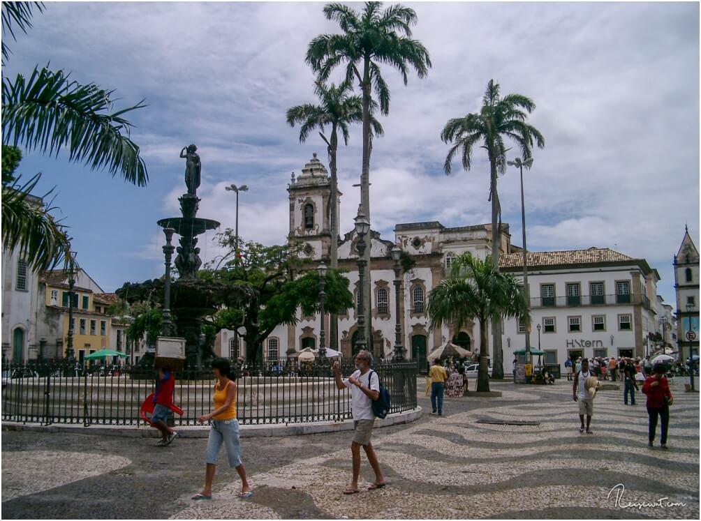 Ein Teil der Oberstadt in Salvador