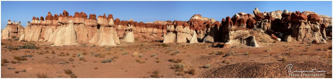 Der Blue Canyon ist zum Glück halbwegs verschon geblieben vom Overtourism bisher