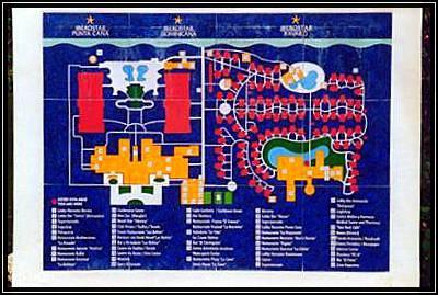 Lageplan des Iberostar Bavaro Resort
