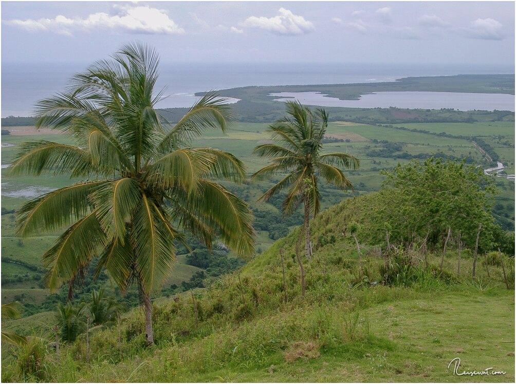 Im Hintergrund die Laguna Redonda, welche wir später noch in kleinen Kanus überquert haben