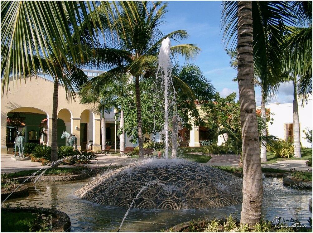 Die Anlage des Hacienda Dominicus ist offen, weitläufig und hat wunderschöne Details
