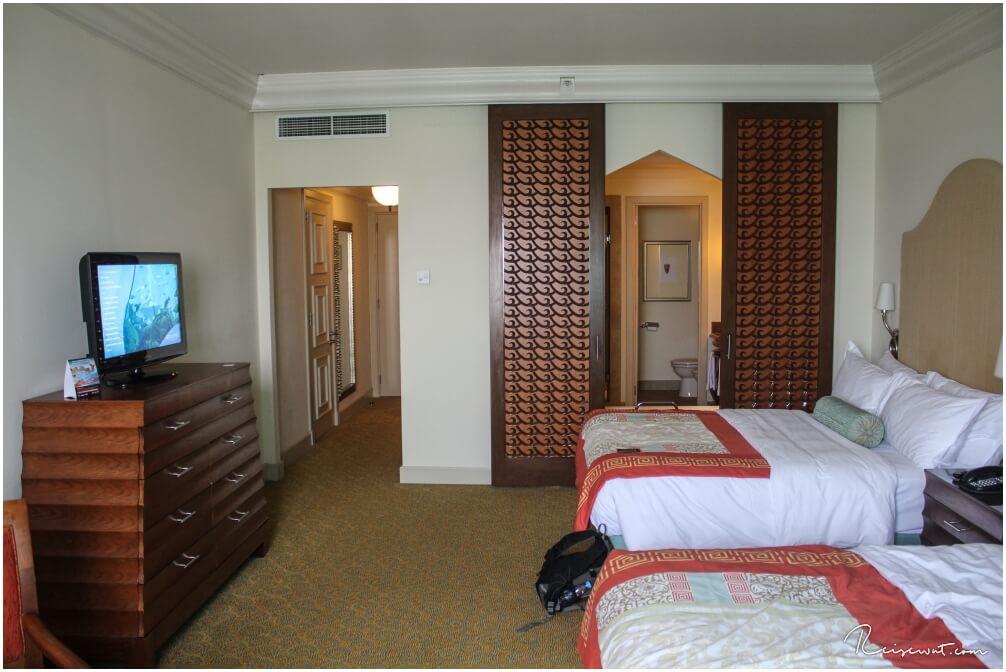 Unser Zimmer im Atlantis Dubai The Palm