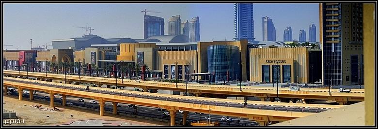 Dubai Mall ... ein Katzensprung vom Hotel aus