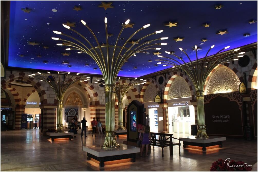 Ein Teil des Gold Souks in der Dubai Mall