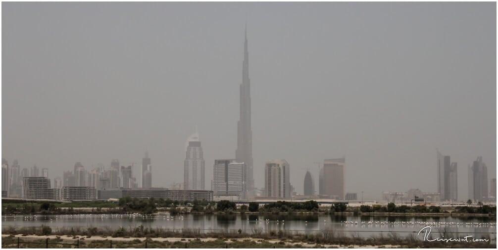 Es ist schon gewaltig, wenn man vorstellt, dass der Burj 2.5x so hoch ist wie der Eiffelturm