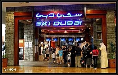 Ski Dubai Eingang