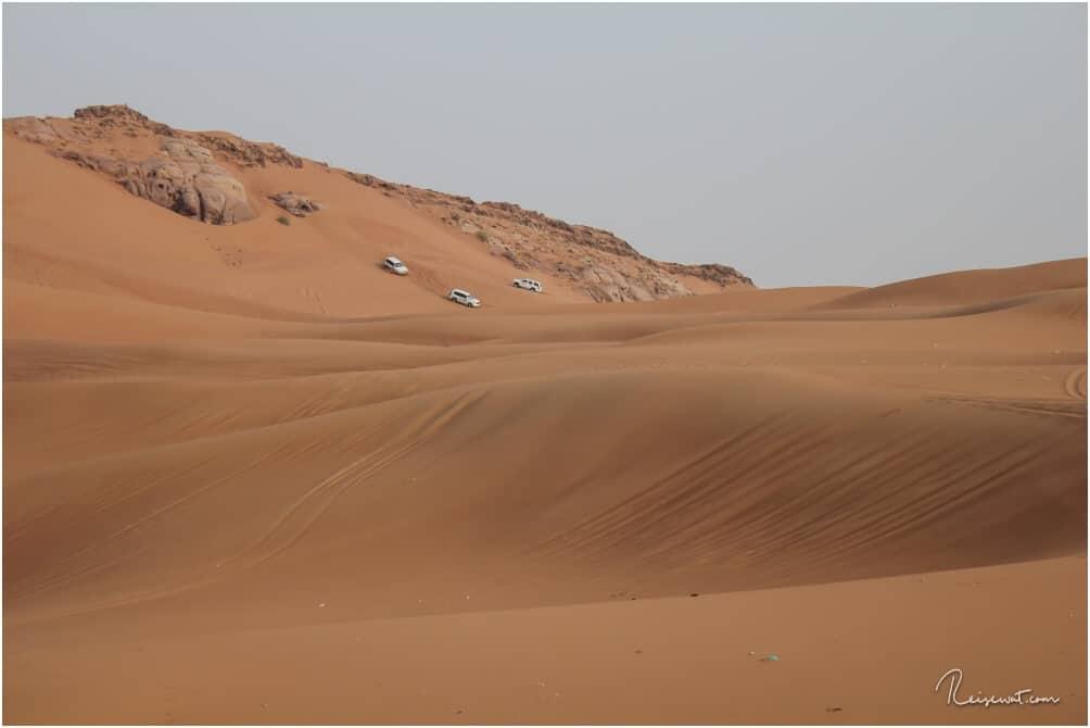 Offroad-Spaß während der Dubai Wüstensafari