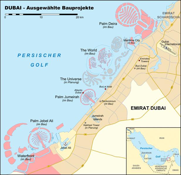Zukunft Dubais, Bauprojekte