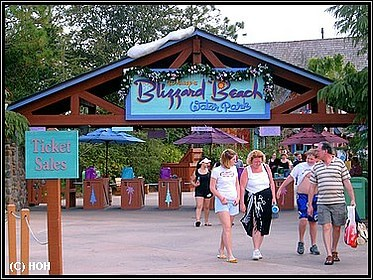 Blizzard Beach Eingang