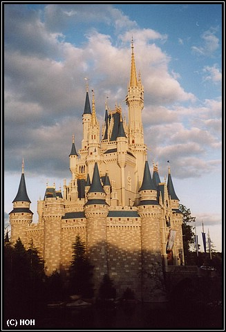 Cinderellas Castle, Mittelpunkt aller Magic Kingdom Freizeitparks