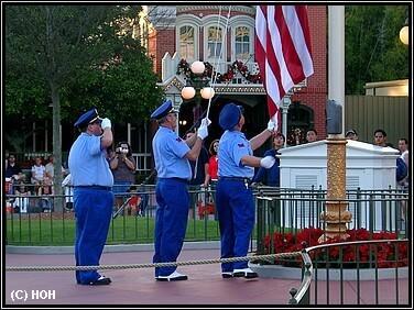 Flaggenzeremonie