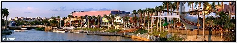 Panorama vom Universal City Walk