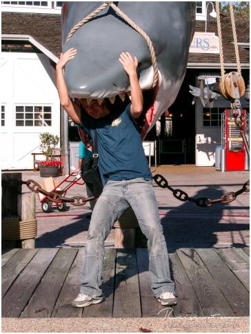 Universal Studios ... Jaws. Ups, er hat mich erwischt