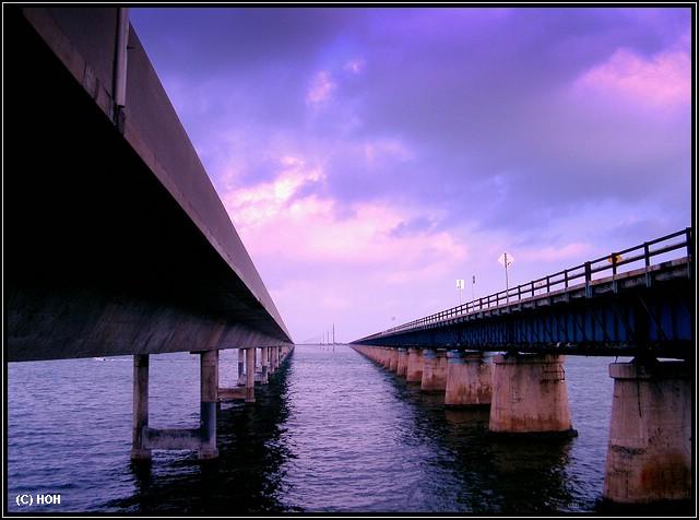 Fahrt via Florida Keys nach Key West