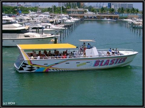 """Unser Speedboat """"Bayside Blaster"""""""