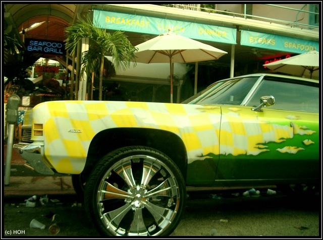 Muscle Car am Ocean Drive