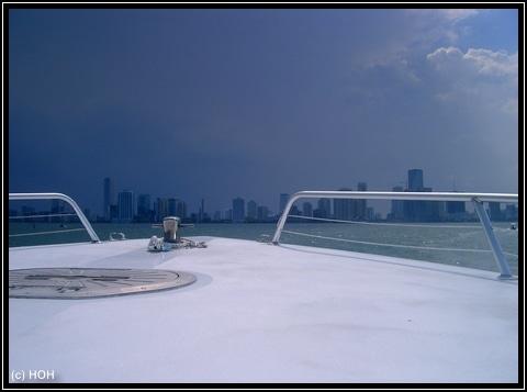 Dunkle Wolken über Miami ...