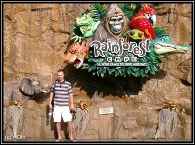 Rainforest Cafe Downtown Disney, Orlando