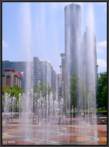 Fountains of Olympic Park