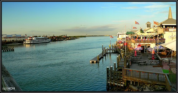 John's Pass Boardwalk Panorama