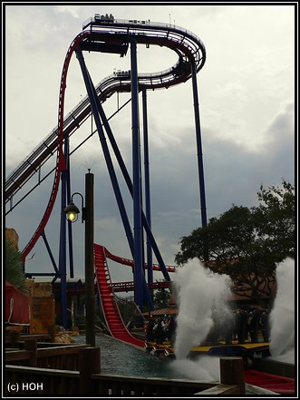 SheiKra ... der Drop