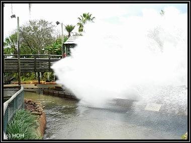 Tidal Wave ... im Moment der Dusche